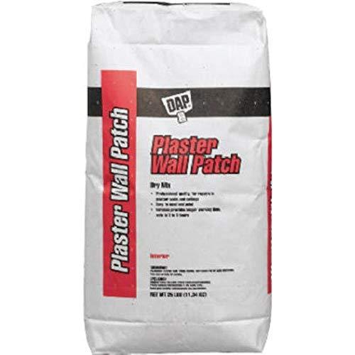 Dap 7079810502 Stucco Patch Dry Mix 25 Lb Raw Building Material, White