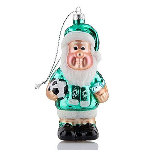 Werder Bremen Weihnachtskugel GARTENZWERG