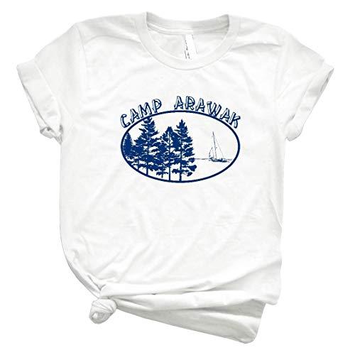 The Hunting Dad Camp Arawak 61 Shirt Girls Handmade T Shirt Gift Tee Graphic for Womens Man White