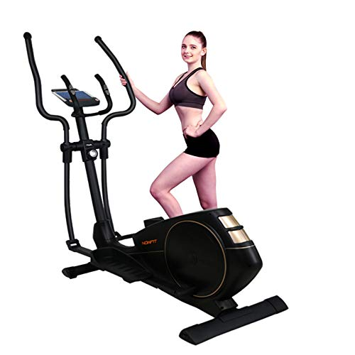 NOWFIT 510P Elliptical Machine,Cross Trainer Magnetic Training Machine with 16 Level Resistance and Digital Monitor