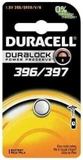5 Pcs Duracell 396/397 D396/D397Silver Oxide Watch Batteries