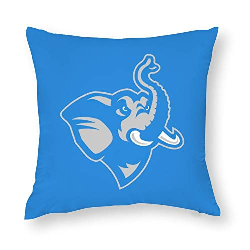 Nother Polyester Throw Pillow Covers Tufts University Pillowcases Home Decorations 20''×20''