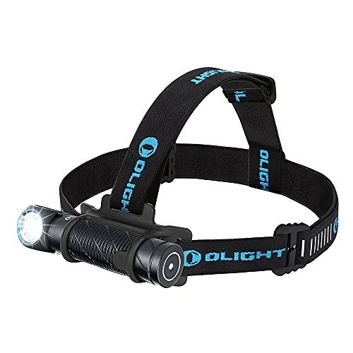 OLIGHT Perun 2 Lampe Frontale Rechargeable Étanche Classée de IPX8 Lampe Frontale Running 2500 Lumens avec 5 Modes d'Éclairage, Pratique et Mulitifonctionnelle pour Les Activités Extérieures