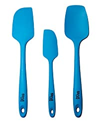 Silicone spoonulas and spoons