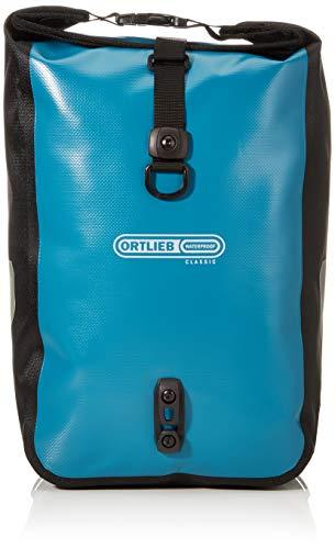 Ortlieb Sport Roller Classic, Borse da Viaggio Unisex Adulto, Petrolio Nero 2 x 12,5 Litri, Taglia unica