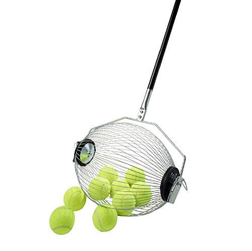 40 Tennisball Sammler Kollectaball Tennisballrohr & Tenniszubehör | 30 Apfelpflücker und Pflücker für Gärten | Keine Biegung | Macht das Sammeln Spaß