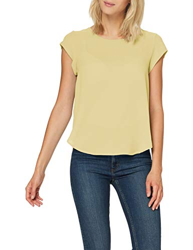 Only Onlvic S/s Solid Top Noos Wvn Camiseta, Pineapple Slice, 44 para...