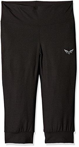 Trigema Damen 531290 Sporthose, Schwarz (Schwarz 008), 46 (Herstellergröße: XL)