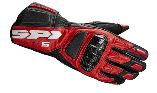 Spidi Motorrad Handschuhe STR-5, Rot, Größe S