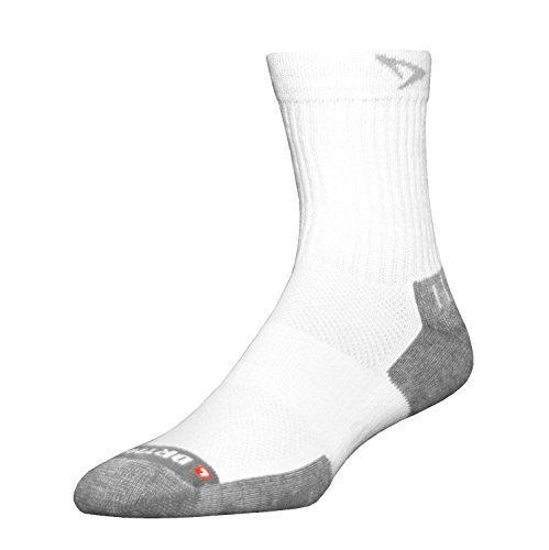 Drymax Tennis-Socken, Größe S, Weiß/Grau