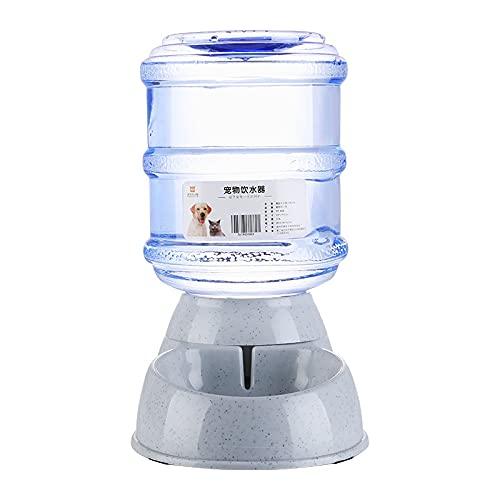 Dispensador de Agua para Mascotas, dispensador de Agua automático de Gran Capacidad, Limpio e higiénico, Apto para Perros y Gatos medianos y Grandes (3.8L)