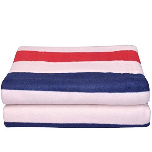 Veiligheid, stralend, elektrisch, pincet, eenvoudig, verdikt, dubbel, controle, thermostaat, elektrisch, deken, comfortabel, energie, besparend, zacht, huid. 150 x 70 cm.