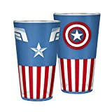 ABYstyle - Marvel - Verre XXL - 400 ML - Captain America