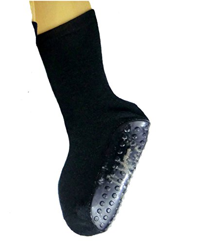 Shima Kinder Sockenschuhe, Farben alle:schwarz, Größe:3/4=24/26