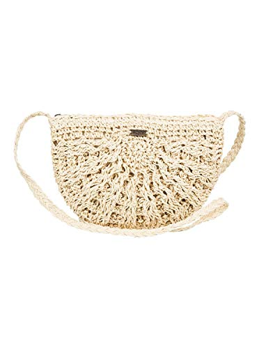 Roxy Chips and Guacamole Straw Purse Natural One Size