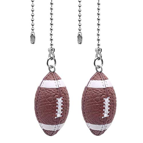 Ceiling Fan Pull Chain Ornaments Extension Football Light...