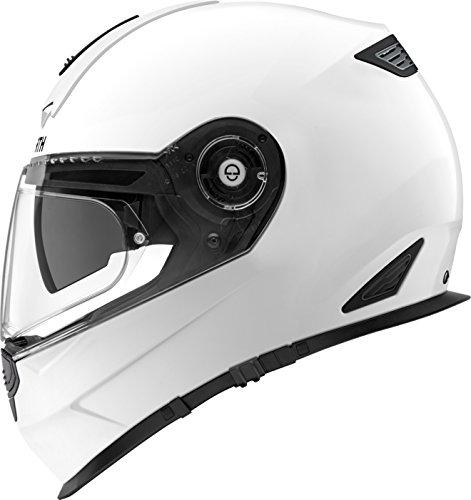 SCHUBERTH R2 Glossy White Motorrad Helm, 55