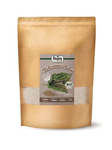 Biojoy Enveloppes de psyllium BIO - riches en fibres et végétaliennes (1 kg)