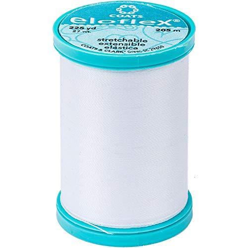Eloflex Stretch Thread 225yd-white