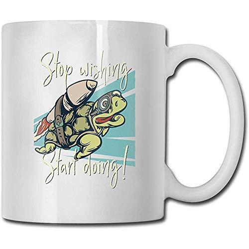 Rocket Turtle koffiemok