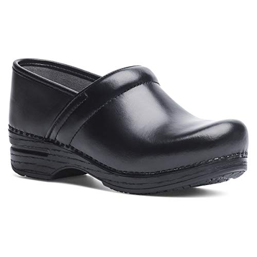 Dansko Women's Pro XP Black Cabrio Clog 8.5-9 M US