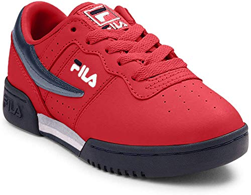 Fila Kids Original Fitness Shoes Red/Navy/White 12.5