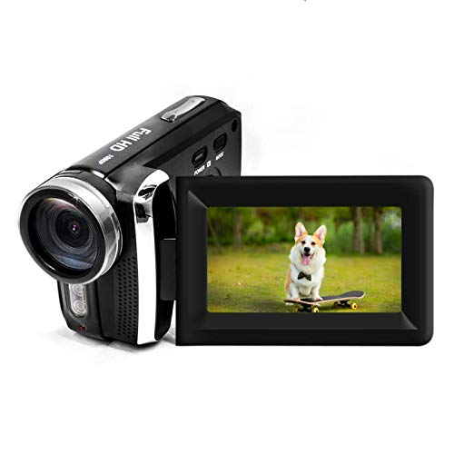 "Mini Digital Camcorder Vmotal 12MP 1080P Video Camcorder / 2.8"" TFT LCD Flip Screen / 270 Degree Rotatable Digital Video Camera for Kids Teenagers Beginners Gifts"