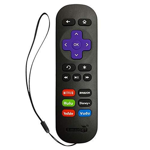Original Amaz247 ARCBZ01 Remote for Roku Player (Roku 1/2/3/4, HD/LT/XS/XD), Express/Premiere/Ultra; NOT for Roku TV or Roku Stick, NO TV Power Button, NO TV Volume Button