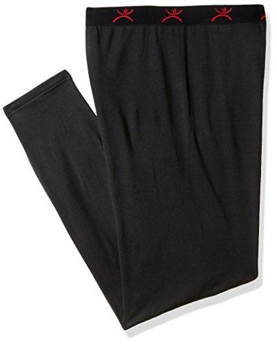 Price comparison product image Terramar Men's Military Fleece Pants,  Black