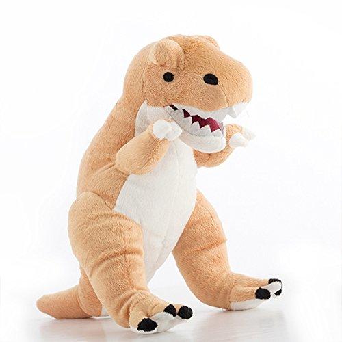 TRex Plüsch Dinosaurier 36cm Braun Kinder Spielzeug Plüschtier Dinos Kuscheltier