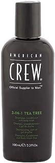 American Crew Crew 3 In 1 tea Tree Shampoo, 3.ounces