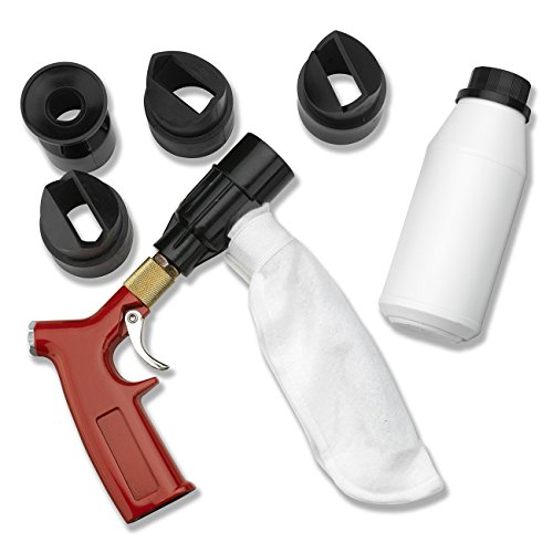 Neiko 30042A Closed Cycle Four Nozzles Included Spot Shot Sandblaster Kit