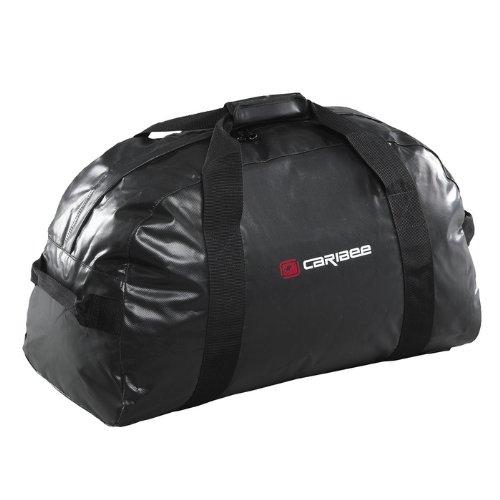 Caribee Zambezi 65 - Wetterfeste PVC Gear Bag mit 65L, Farbe: Schwarz