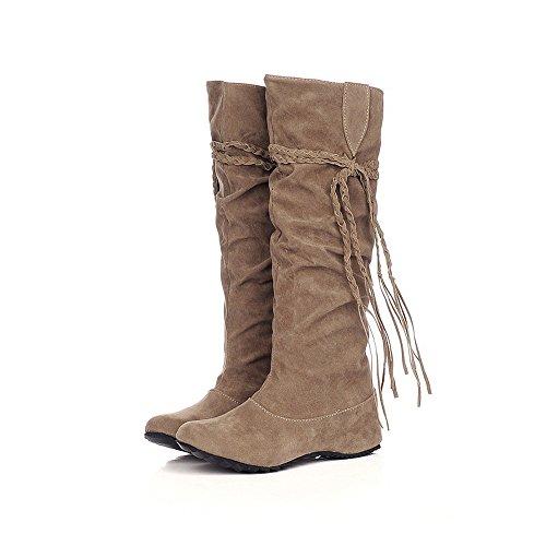 Botas Altas Mujer Planas Cowboy Camperas Invierno Botas Altas Mujer Bo