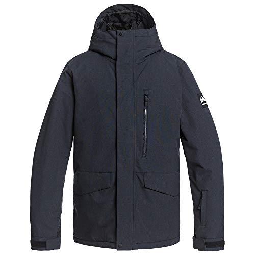 Quiksilver Snow Mission Solid Jacket True Black LG