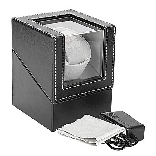 ROTAKUMA Reloj Winder para Relojes Automáticos Motor Shaker Watch Winder Holder Reloj Mecánico Automático Caja De Enrollamiento (Color : US Plug)