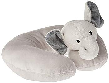 Hudson Baby Unisex Baby Neck Pillow Gray Elephant One Size