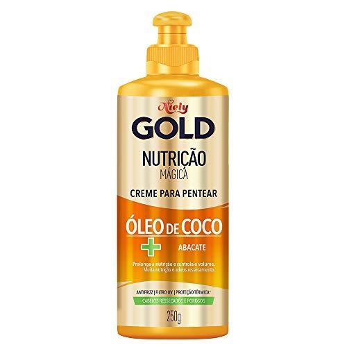 Gold Creme Para Pentear Nutrição Poderosa, 280G, Niely, Niely, Branco