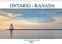 Ontario Kanada, Lake Huron und Georgian Bay (Wandkalender 2022 DIN A3 quer): Farbenpraechtige Sonnenuntergaenge, romantische Buchten und historische Leuchttuerme - Lake Huron und Georgian Bay verzaubern Kanada Fans. (Monatskalender, 14 Seiten )