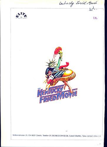 The Kentucky Fried Movie - David + Jerry Zucker - Werberatschlag/Presseinfos