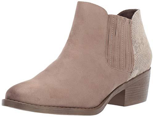BC Footwear Damen Preach modischer Stiefel, Taupe/Natural Exotic, 36 EU