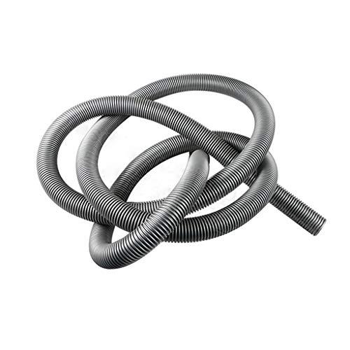 QUJJP Accesorios para aspiradoras Tubería de Tubo de Manguera Flexible Tubería de vacío Piezas de Repuesto 40 mm 1 m de Longitud, Gris Filtros