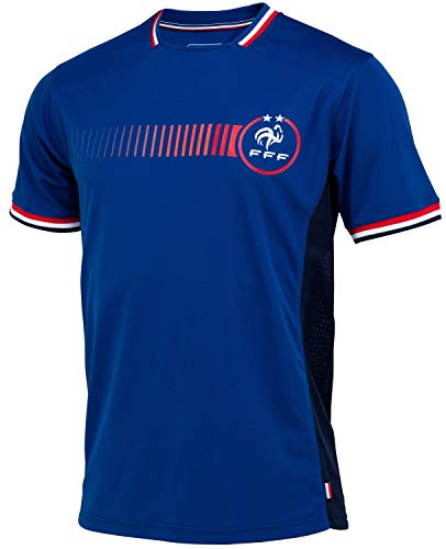 Trikot der französischen Fußballnationalmannschaft FFF – Offizielle Kollektion, Erwachsenengröße, Herren S