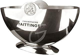 Taittinger Champagner-Kühler Halbmondschale ohne Inhalt