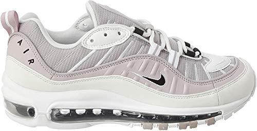 Nike W Air MAX 98, Zapatillas para Correr para Mujer, Silver Lilac Black Platinum Violet Platinum Tint White, 36 EU