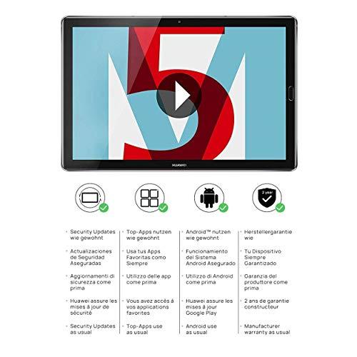 Huawei MediaPad M5 10.8 Wi-Fi - 32 GB - Grau (Zertifiziert und Generalüberholt)
