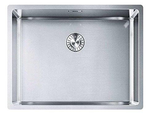 Franke Box BXX 110-50 Edelstahl-Spüle glatt Unterbaubecken Küchenspüle Spültisch