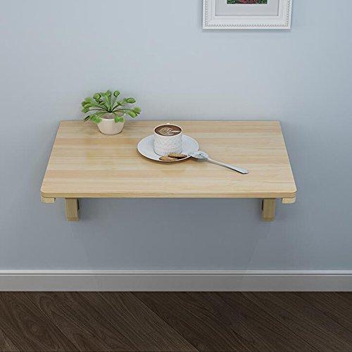 FEI Tableau accrochant de Tableau pliant en bois plein Plusieurs tailles (Couleur : Wood, taille : 120 * 40CM)