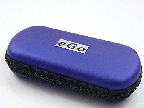 Hannets® Zipper Etui blau groß für e-Zigaretten eGo-T / eGo-C / eGo-W / 510 / 510-T