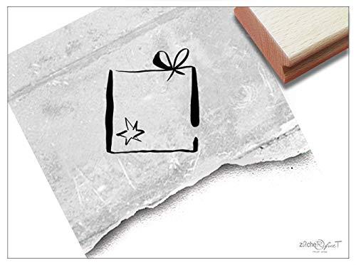 ZAcheR-fineT Kerststempel, geschenkpakket, motiefstempels voor Kerstmis, kaarten, cadeauhangers, knutselen, kerstdecoratie, tafeldecoratie